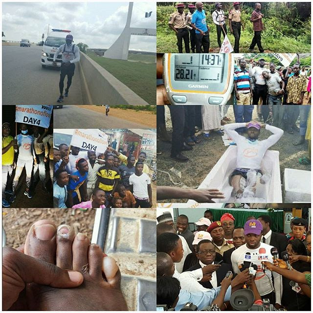 Fadesola Adedayo Walks From Abuja To Lagos To Create Awareness About A Disease
