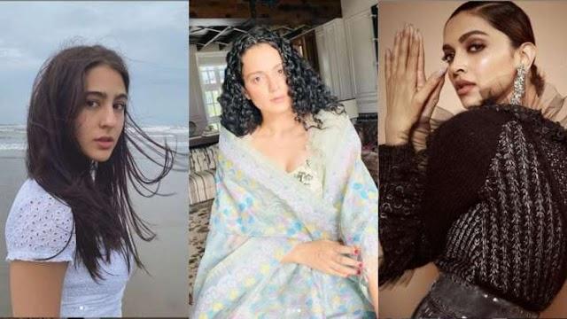 दीपिका पादुकोण, श्रद्धा कपूर और सारा अली खान को समन भेजे जाने के बाद कंगना रनौत ने कही ये बात