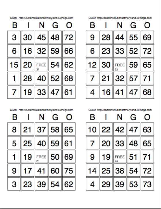 It's just a graphic of Sassy Printable Bingo Calling Cards