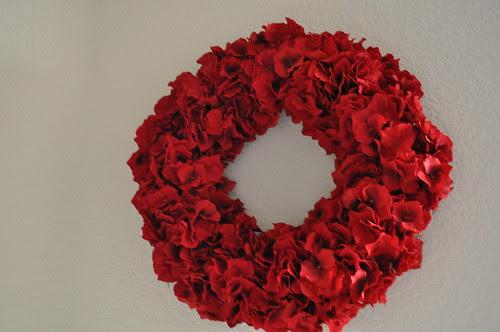 Xmas wreath.  Thanks mom & dad.