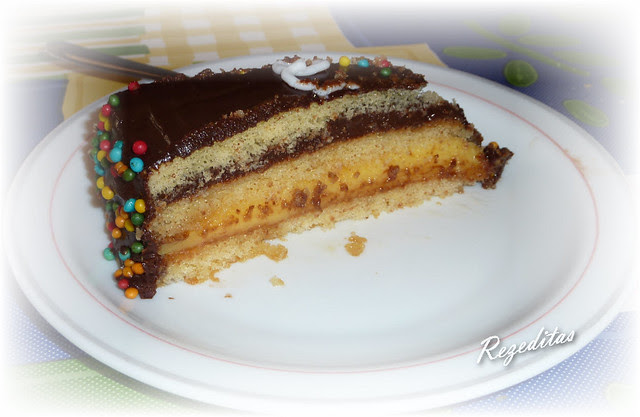 TARTA A CAPAS DE VAINILLA Y CHOCOLATE LIGHT