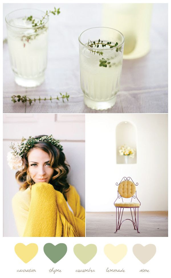 Color Palette: Carnation + Thyme - The Sweetest Occasion | The Sweetest Occasion