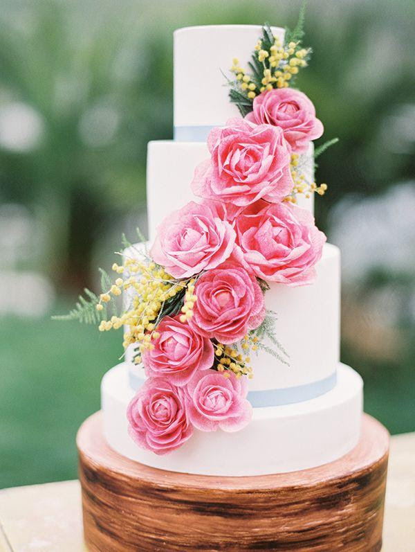 Wedding Theme Fresh Summer Wedding Cake Ideas 2574095 Weddbook