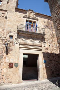 Resultado de imagen de palacio del comendador de alcuescar caceres