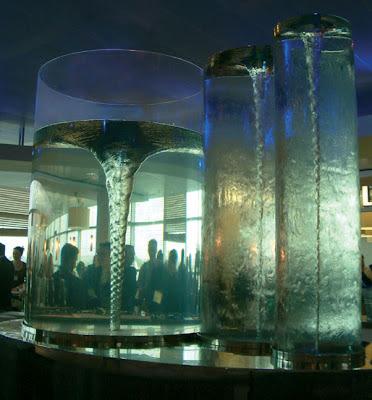 Water Vortex Sculpture