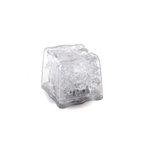 Yellow Square Ice Cube Lights   LED Flashing Lights