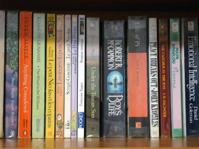 2.24 Favorite book(s) on my shelves