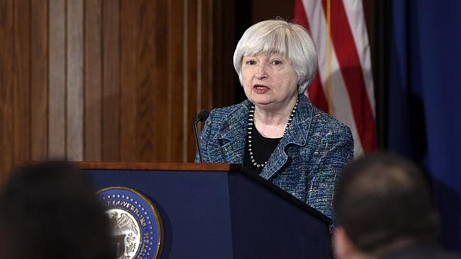 She's the head of the most influential central bank in the world, the US Federal Reserve.