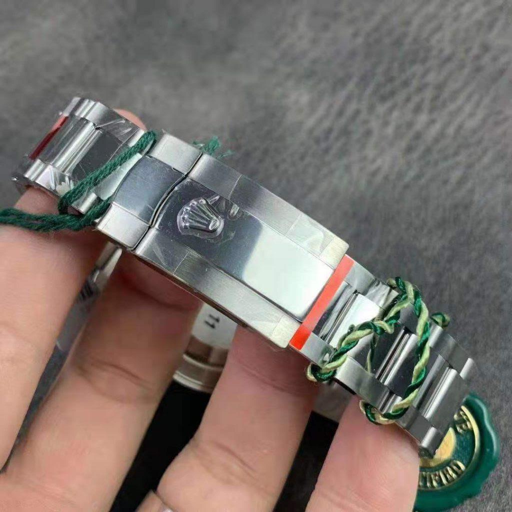 Rolex Datejust Silver Bracelet