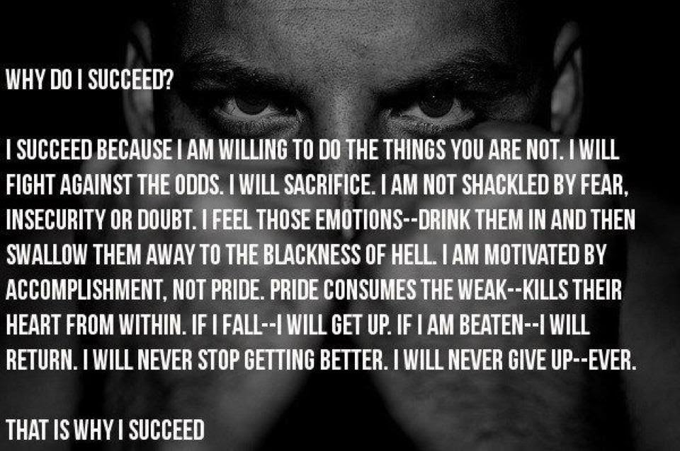 Quotes About Sacrifice To Succeed 39 Quotes