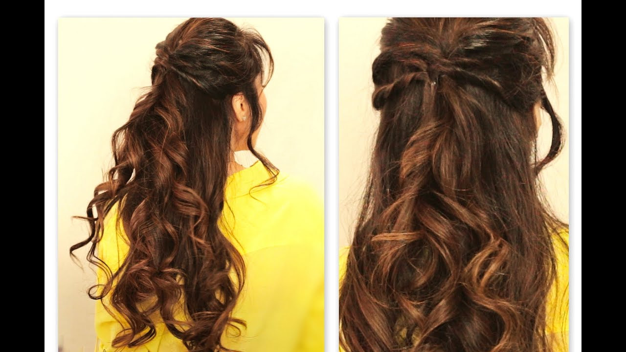 Hairstyles For Prom Half Up Half Down Bow PictureFuneral Program