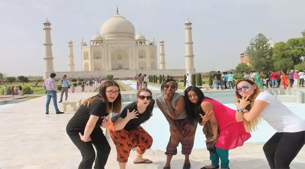 Most visited places in India by Foreigners