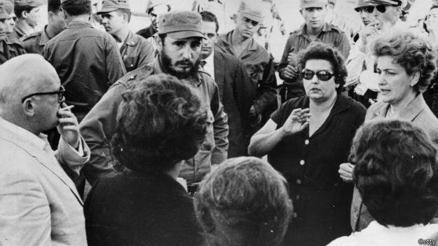 Fidel Castro en 1961