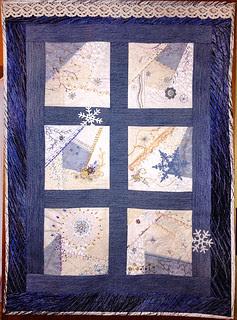 Last Winter Day crazy quilt