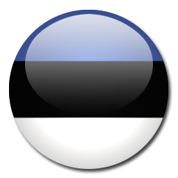 Estonia Flag Icon Download Rounded World Flags Icons Iconspedia