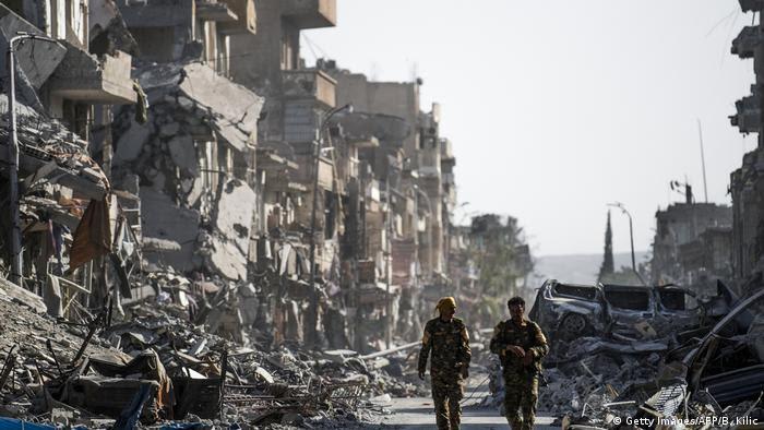 Syrien Raqqa - Raqqa nach der Befreiung vom IS (Getty Images/AFP/B. Kilic)