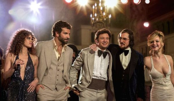 The cast of AMERICAN HUSTLE.