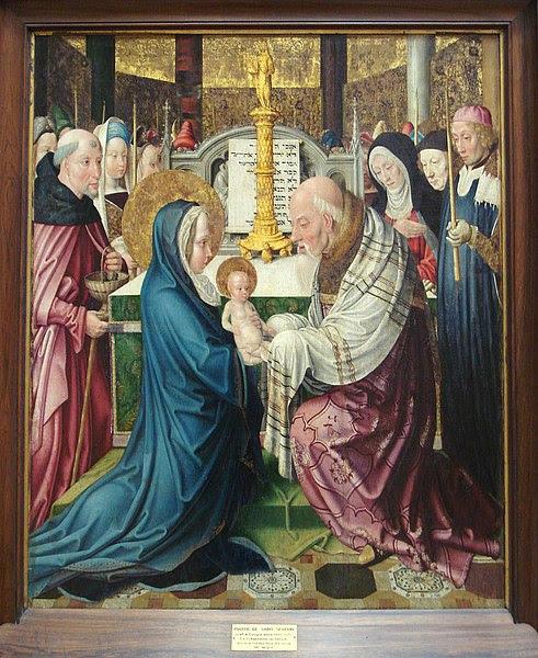 File:Maitre de Saint Severin Cologne 1465 1515 La Presentation au Temple.jpg