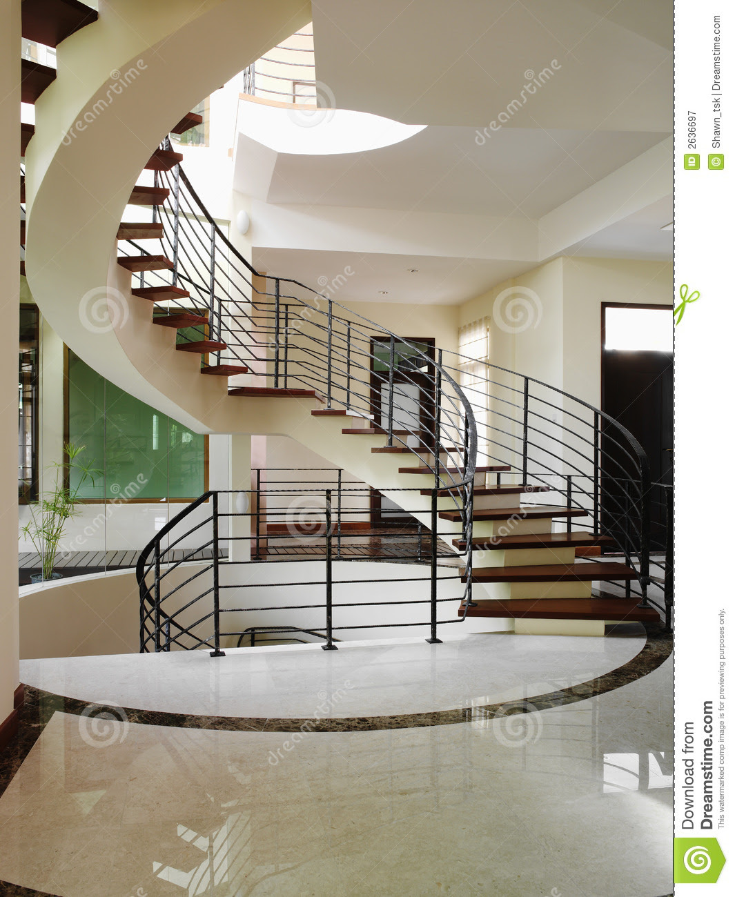 Interior Design - Stairs Royalty Free Stock Photography - Image