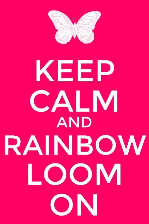 Rainbow Loom On www.pinkavenuegirl.com