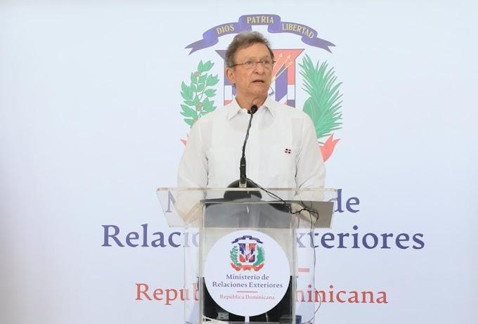 GOBIERNO DOMINICANO NO CREE HAITÍ CUMPLA CALENDARIO ELECTORAL Y PROPONE OBSERVACIÓN INTERNACIONAL