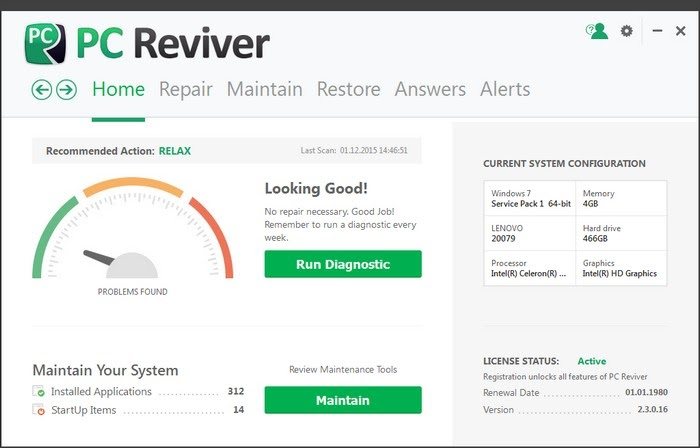 ReviverSoft PC Reviver 2.8.0.4 Portable Full Free Download ...