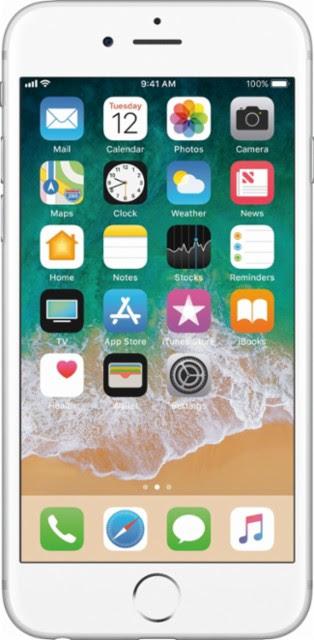 Apple - Iphone 6s 32gb - Silver (verizon)