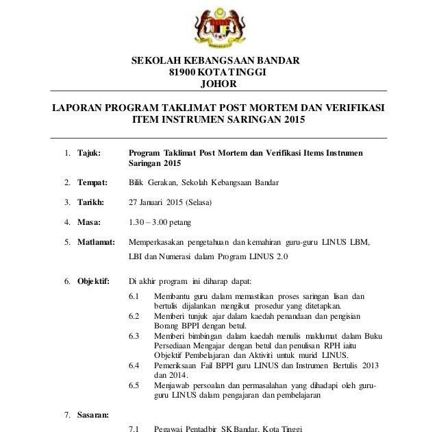 Contoh Format Laporan Pengamatan Contoh 193