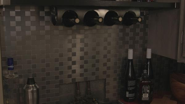 Stainless Steel Backsplash Knock It Off The Live Well Network