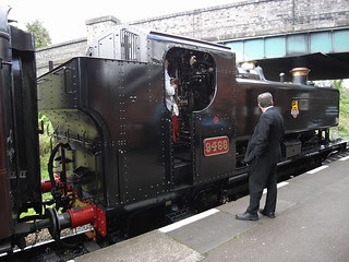 Pannier tank 9466 at Rothley