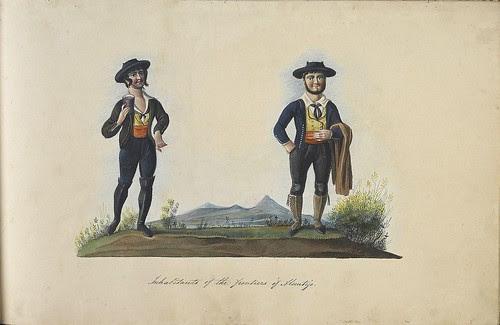 Inhabitants of the frontiers of Alentejo