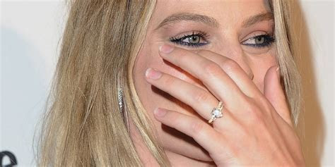 Margot Robbie Gives Fans A Closer Look At Her Wedding Ring