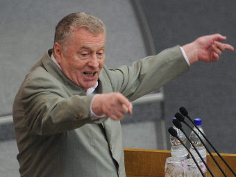 Владимир Жириновский. Фото РИА Новости, Владимир Федоренко