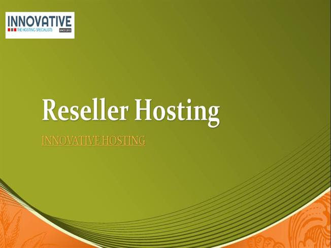 Ssd Reseller Hosting With 50 Off Free Domain Free Cpannel Authorstream