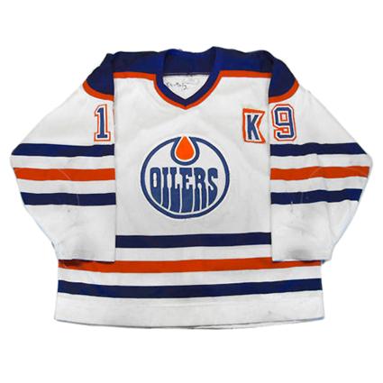 Edmonton Oilers 90-91 jersey, Edmonton Oilers 90-91 jersey