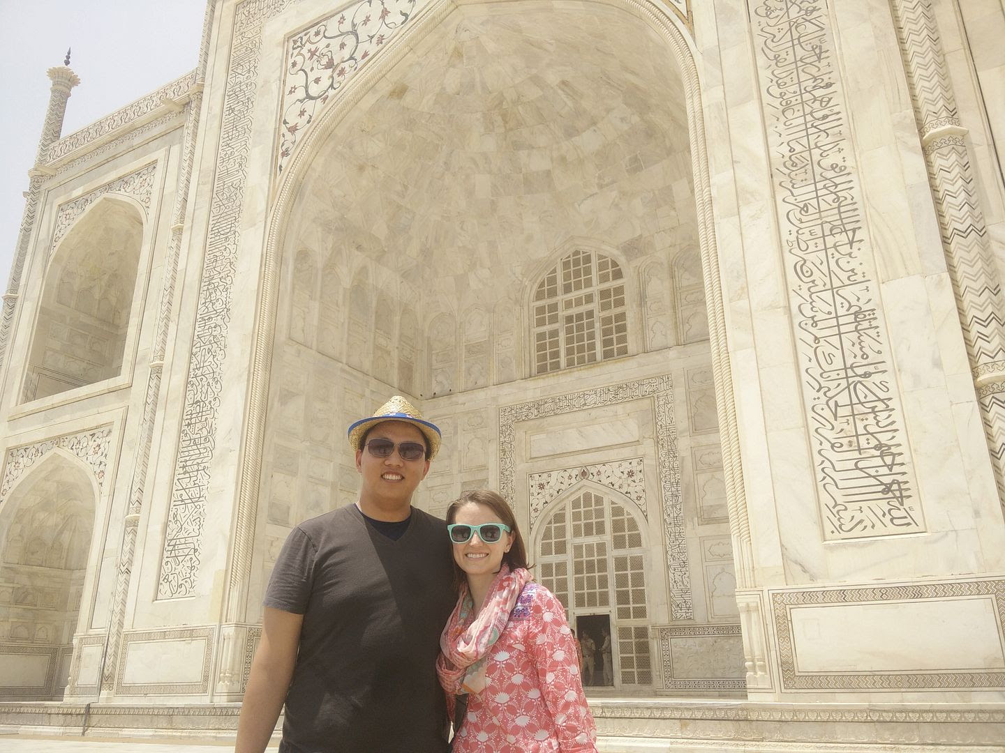 Michael and Michelle at Taj Mahal in Agra, India photo  IMG_20150512_125506_zpsdzi3flv3.jpg