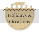 Holidays and Occasions BLog Button