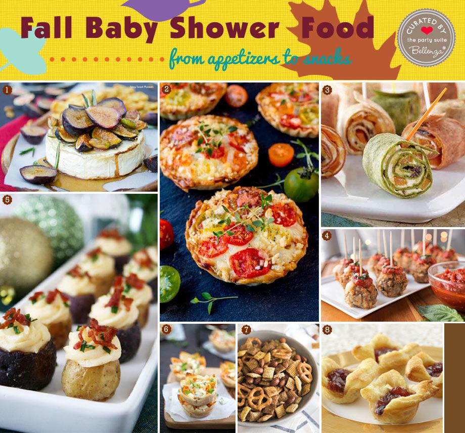 Fall Baby Shower Menu Ideas
