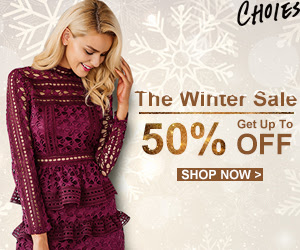 The Winter Sale,Decorate your Gorgeous Vacation! Up to 50% OFF!