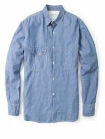 Universal Works Faded Chambray Classic Work Shirt