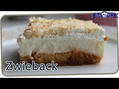 Quark Zwieback Kuchen