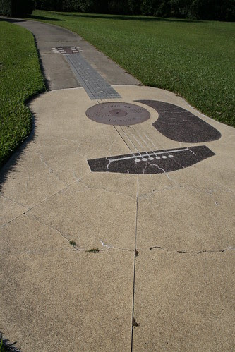 sidewalk guitar