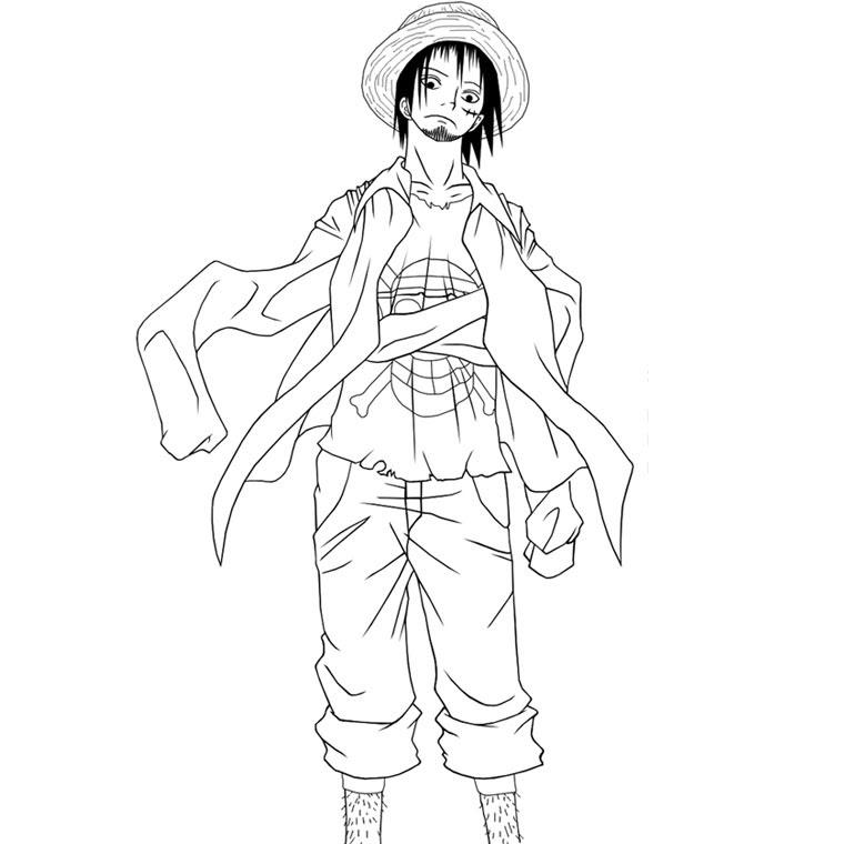 Coloriages à Imprimer One Piece Numéro 55195