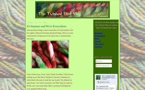 The Twisted Purl Handmade Yarn