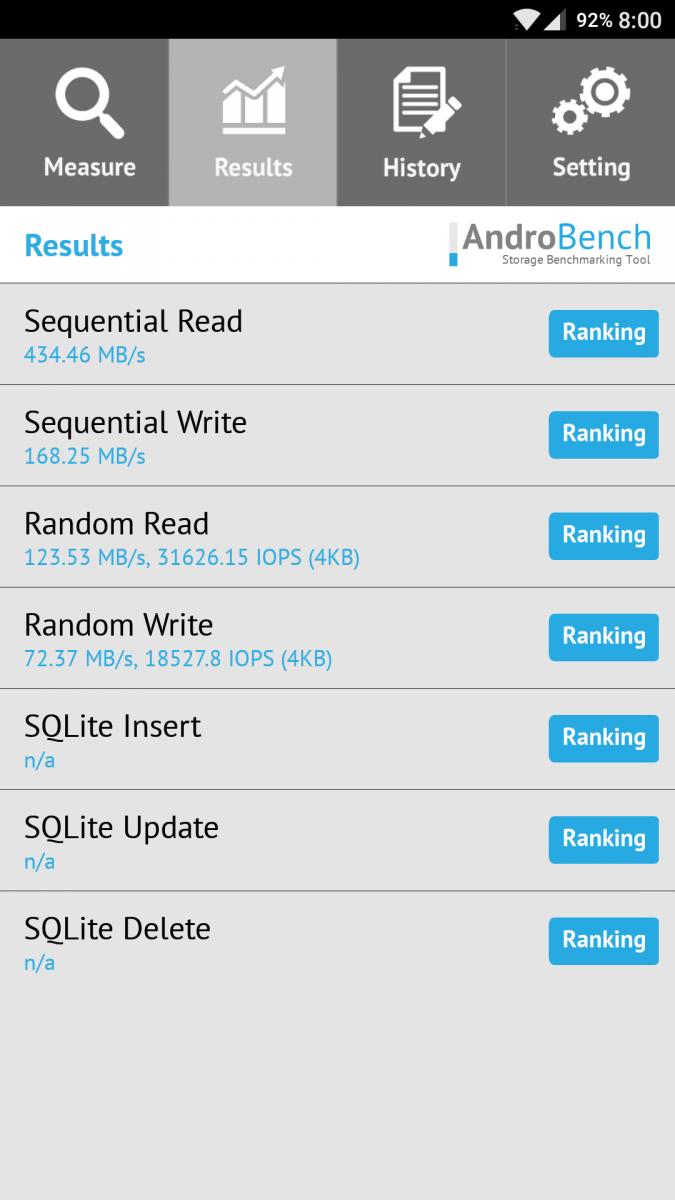 OP3T 64GB - Default