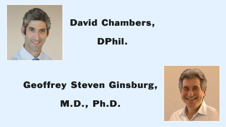 photo pf David Chambers and Geoffrey Steven Gisnburg