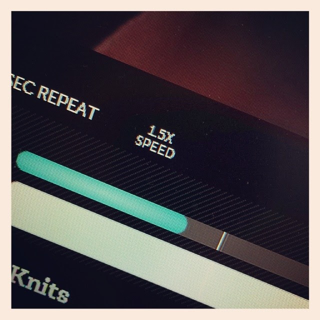 Dear @becraftsy I LOVE the different speeds for playback on my classes!