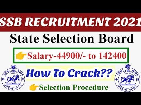 SSB Odisha Lecturer Recruitment 2021 Syllabus
