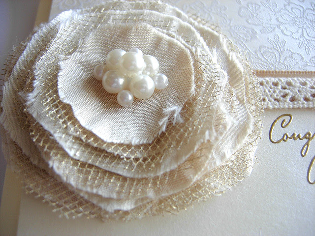 Wedding Card Flower