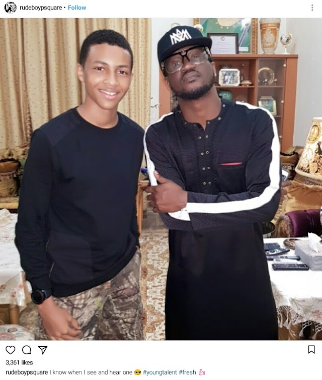 PSquare Breakup Aftermath: Paul Okoye Announces New Artiste To His Label (Photo)